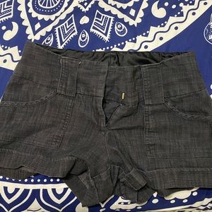 Maurices Black/Grey Shorts